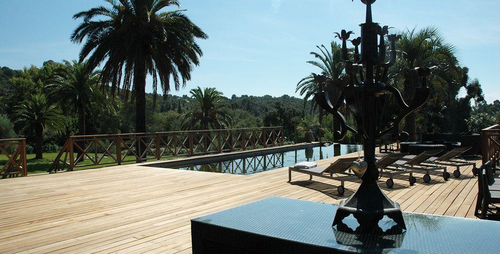 Vous profiterez du soleil du Sud de la France sur la terrasse