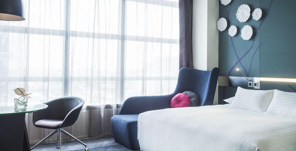 De belles chambres vous attendront à votre retour !