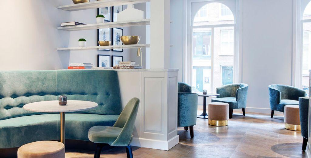 Rendez-vous dans un hôtel design et confortable
