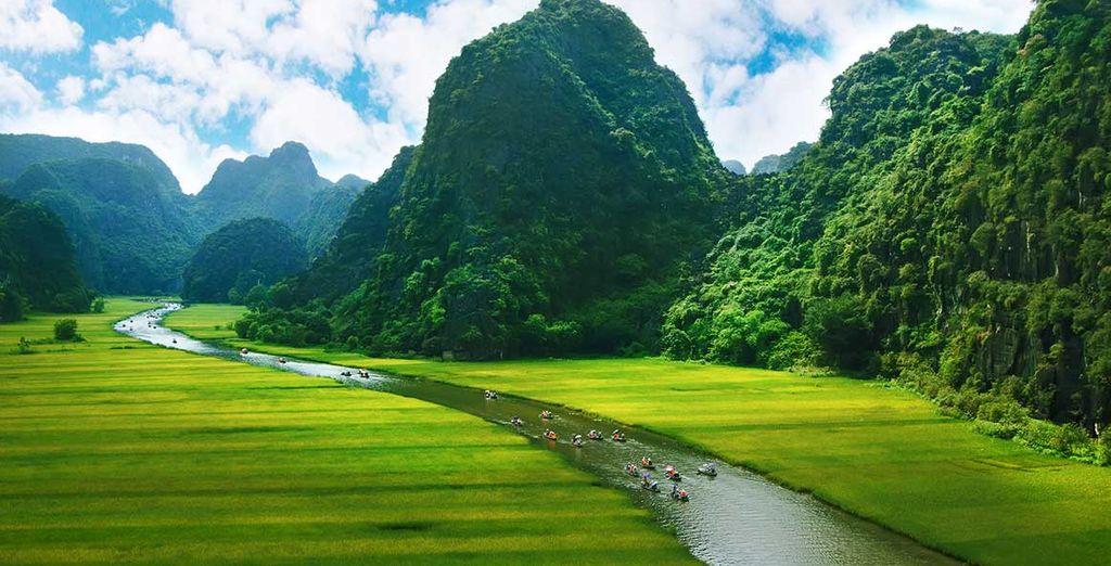 Paysages à couper le souffle comme à Ninh Binh