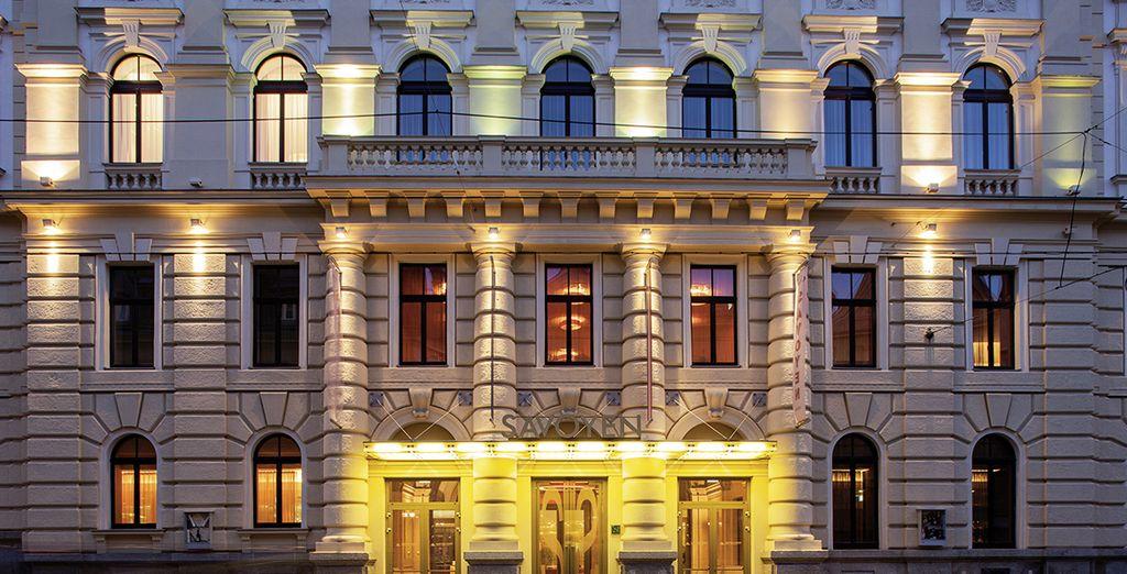 Direction Vienne à l'Austria Trend Savoyen