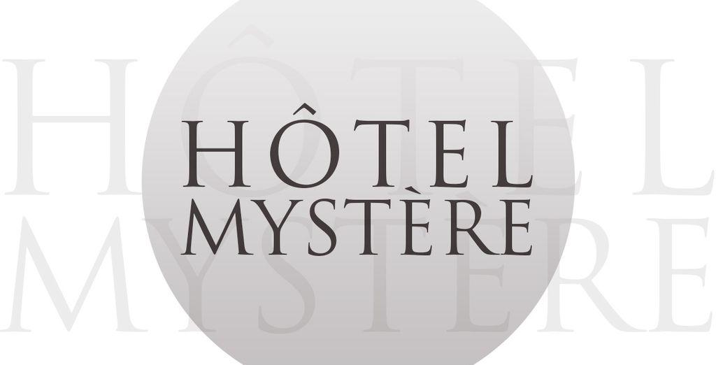 Réservez-vite votre hôtel mystère!