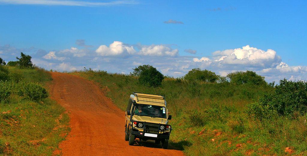 Suivez-nous au Kenya !