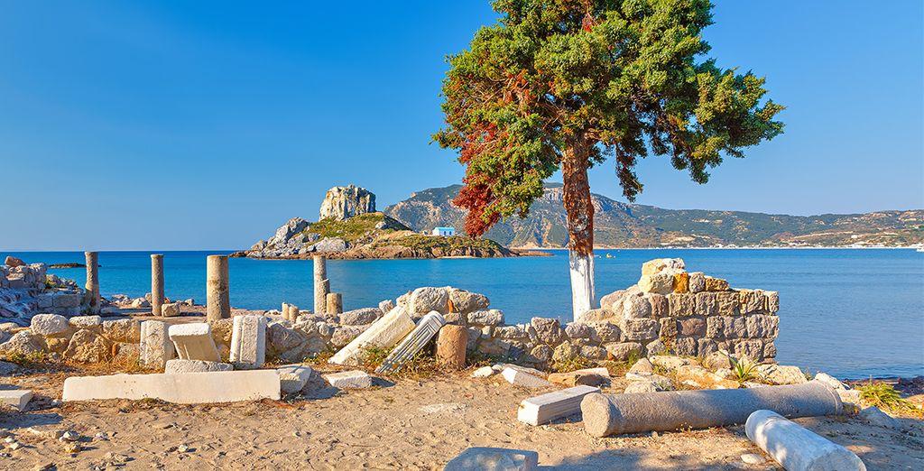 Et partez à la découverte de cette île Antique