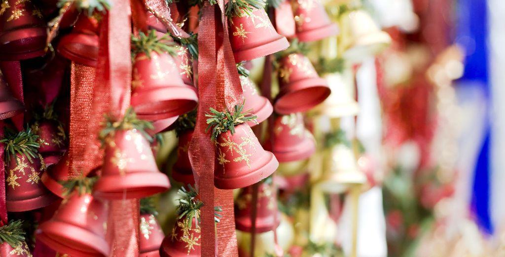 Imprégnez-vous de l'esprit de Noël au coeur des Alpes...