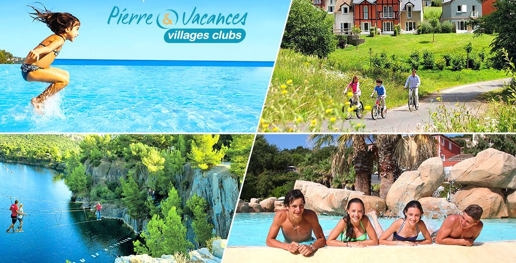 Réservez vite votre Village Club Pierre & Vacances !