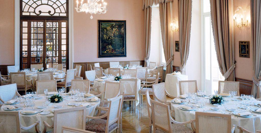 Pour vous faire déguster des plats italiens et internationaux