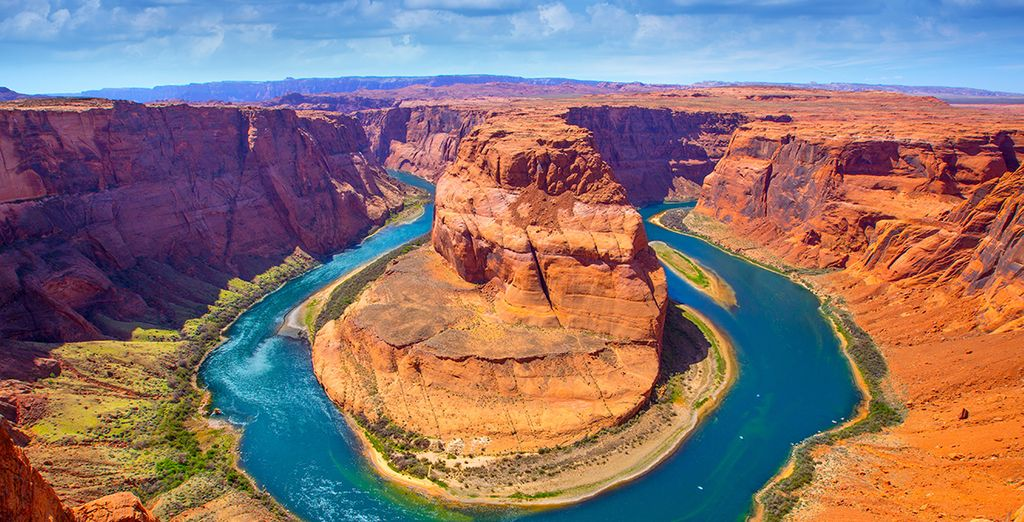 Avant de rejoindre, entre autre, le Grand Canyon