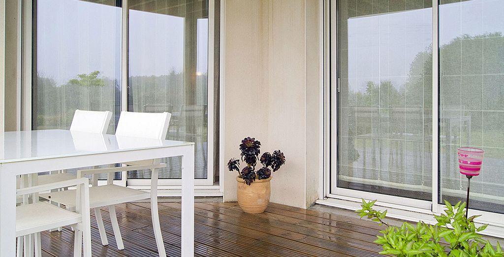La terrasse pour se détendre