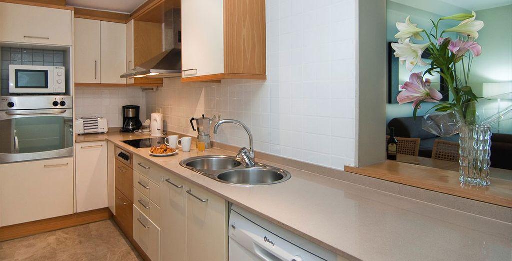 Appartement 6 : La cuisine