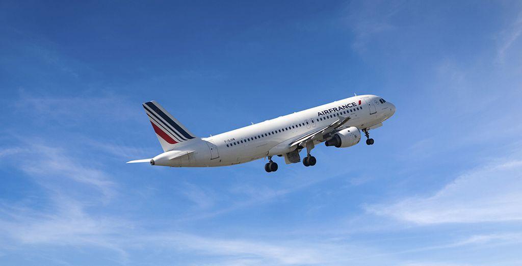 Ajoutez une touche de confort à votre voyage, envolez-vous avec Air France.