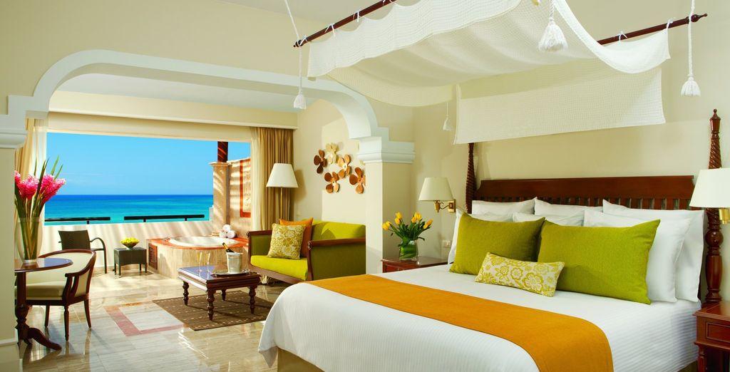 Ou en Preferred Club Junior Suite Ocean Front pour profiter de vues imprenables sur les eaux turquoise