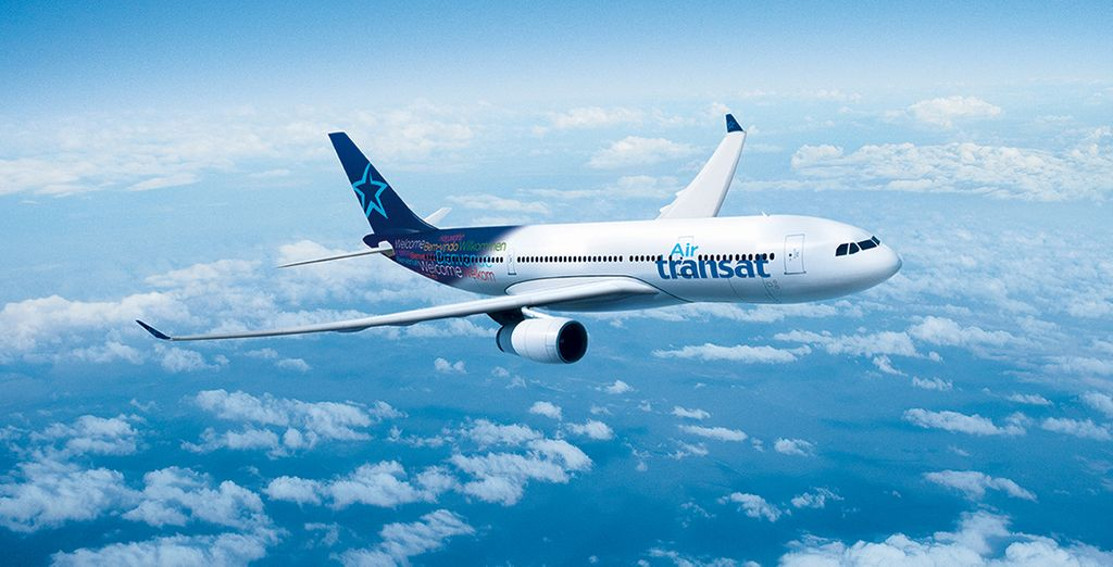 Traversez l'Atlantique avec Air Transat en vol direct