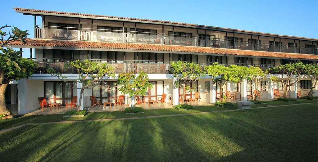Vous attendent au Avani Bentota Resort & Spa