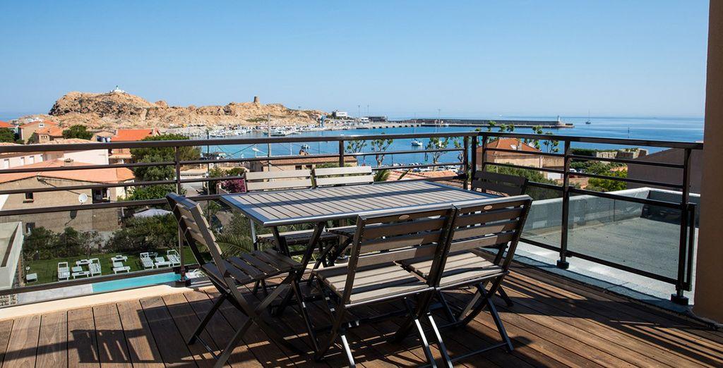 Hôtel haut de gamme en Corse