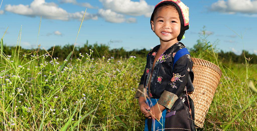 Découvrez le Laos et son peuple doux et hospitalier