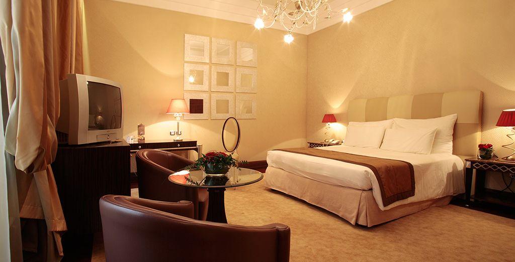 Hôtel mystère 5* de luxe avec chambre double tout confort