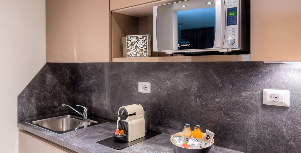 Alors alliez le confort d'une chambre d'hôtel à la simplicité d'un appartement et faites-vous plaisir
