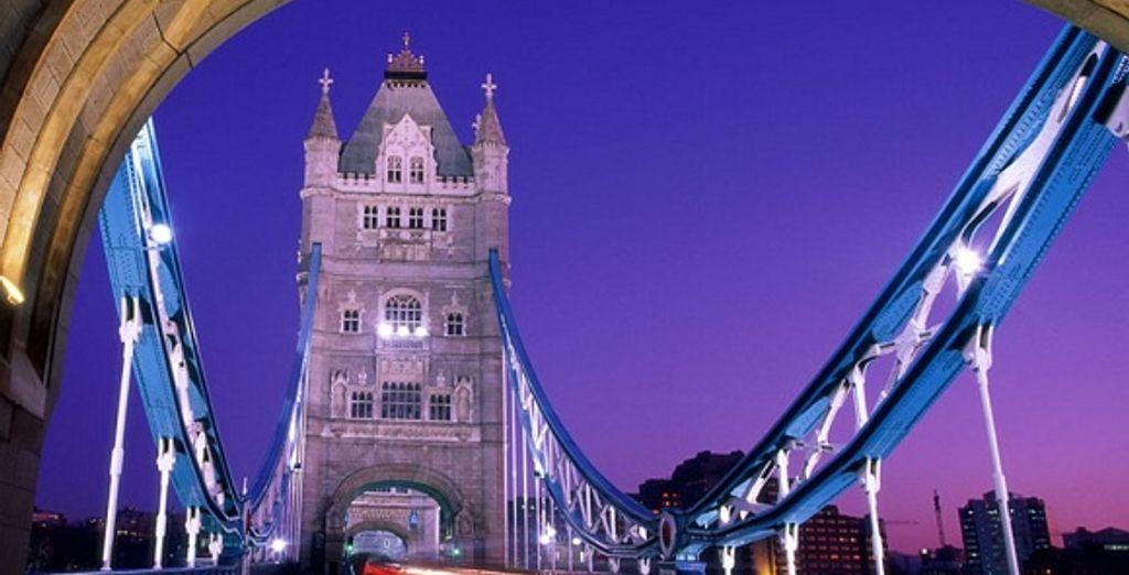 Le tower Bridge - Grosvenor House Hotel ***** Londres