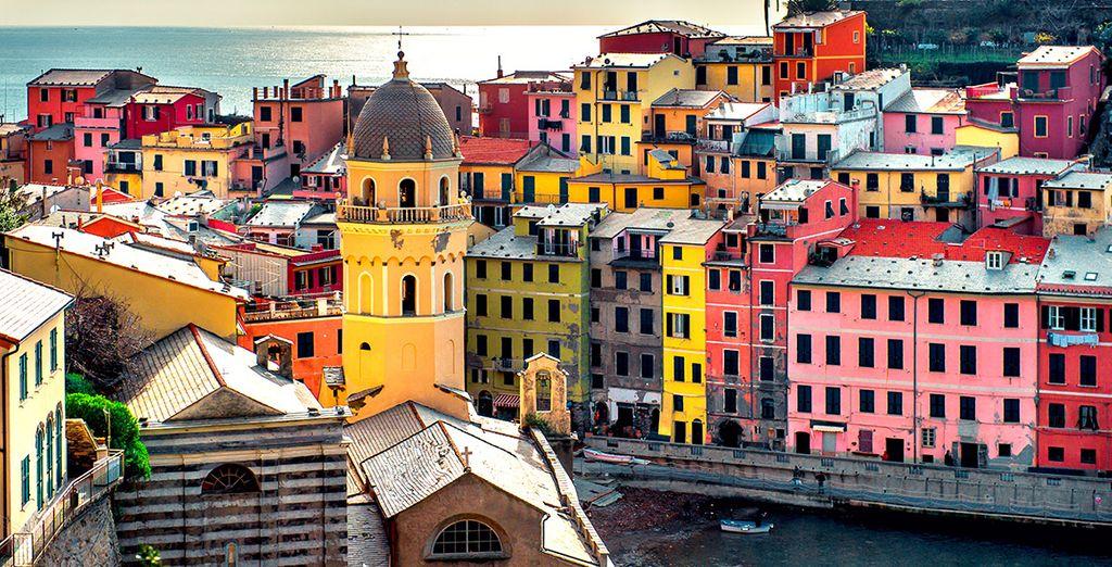 Découvrez la région, ses maisons colorées