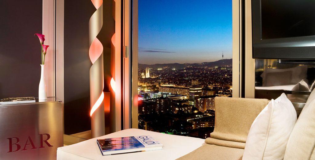 Venez découvrir Barcelone depuis l'élégant The Level at Melia Barcelona Sky