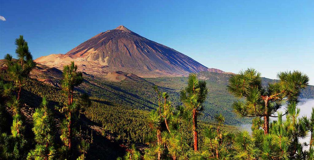 Photographie des volcans des îles Canaries