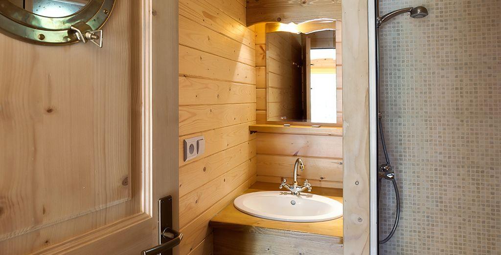 Jusque dans la salle de bains