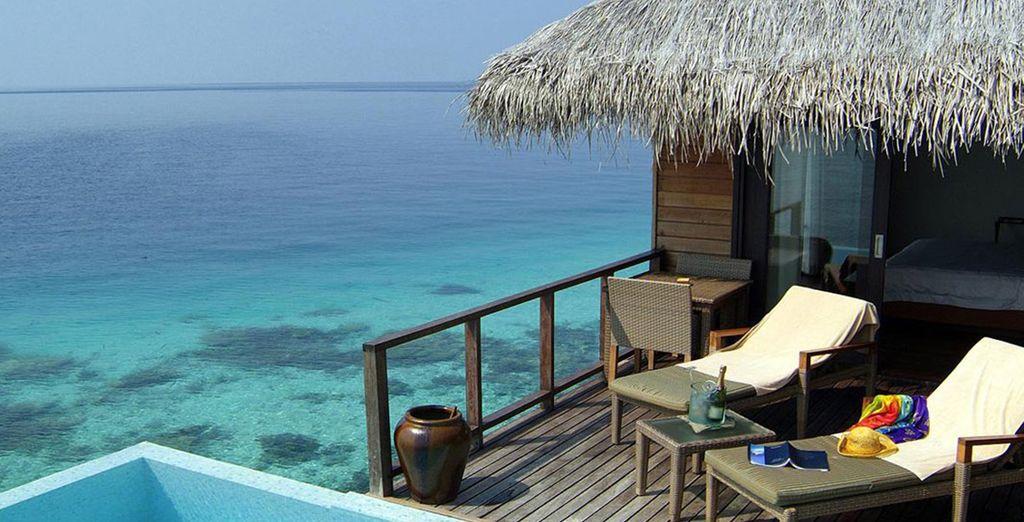 A moins de préférer le luxe de l'Escape Villa sur le lagon