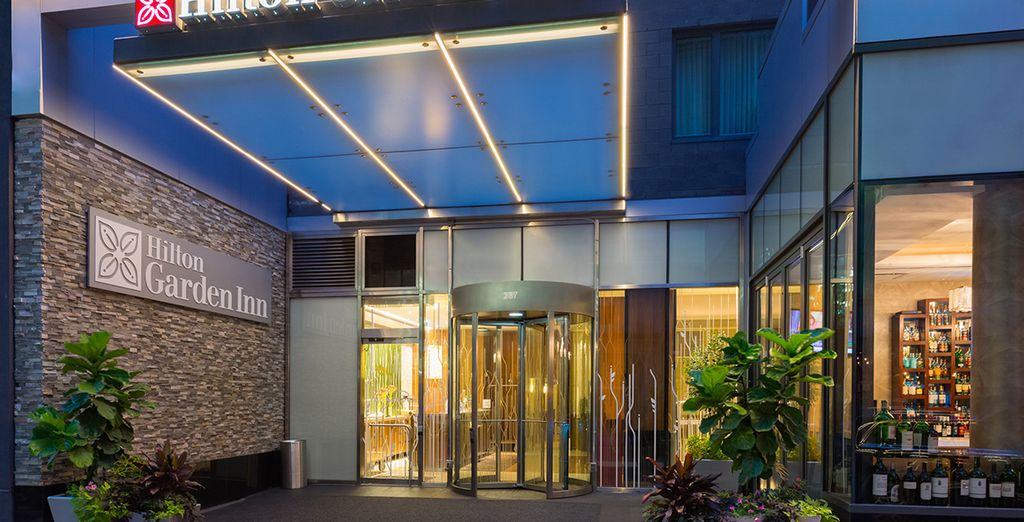 A l'hôtel Hilton Garden Inn