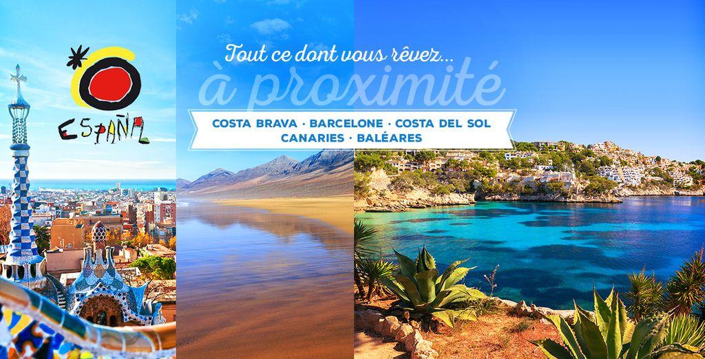 Réservez vite votre séjour en Espagne !