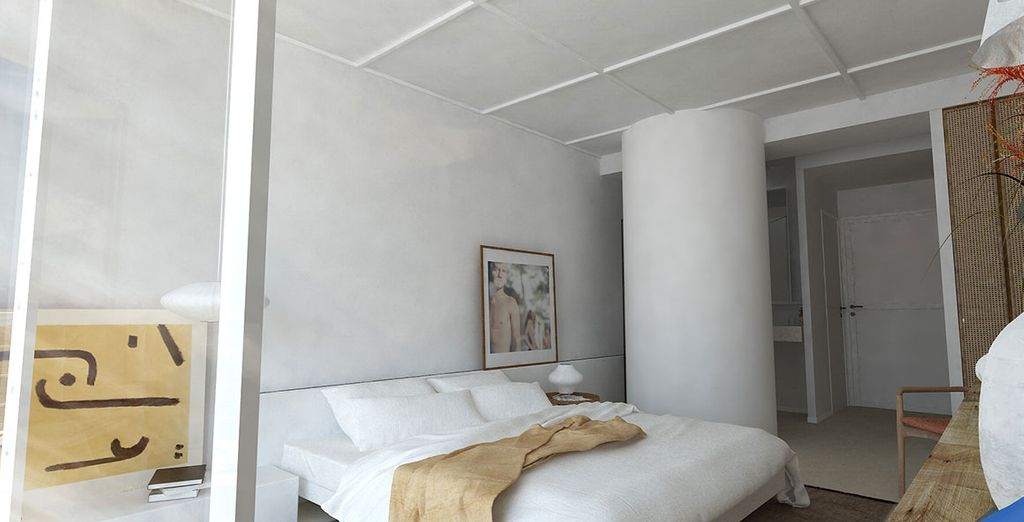 D'inspiration méditeranéenne, votre chambre Classique