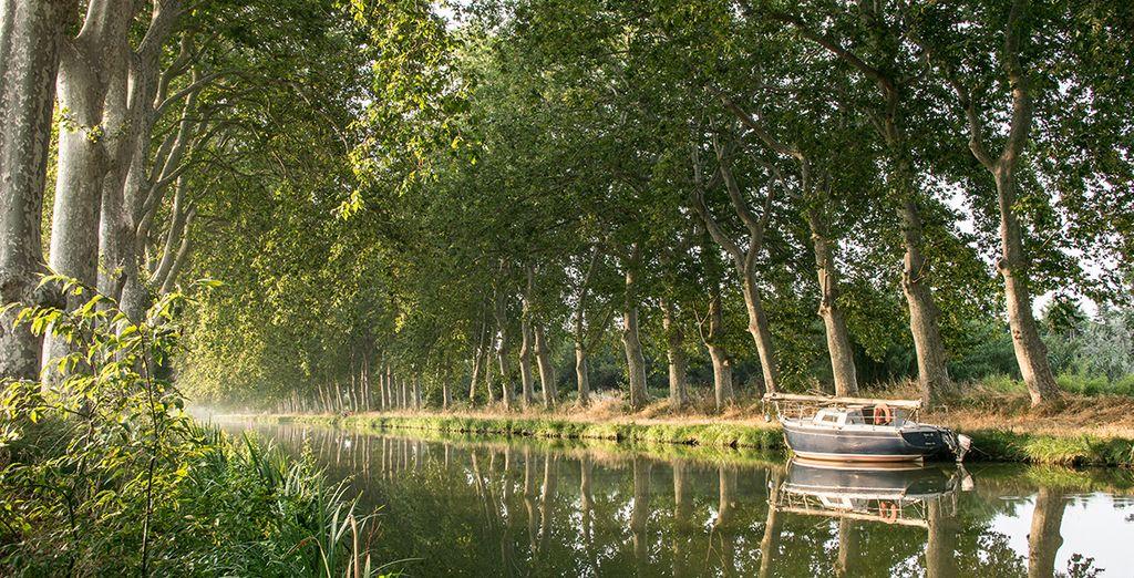 Le Canal du Midi vous tend les bras