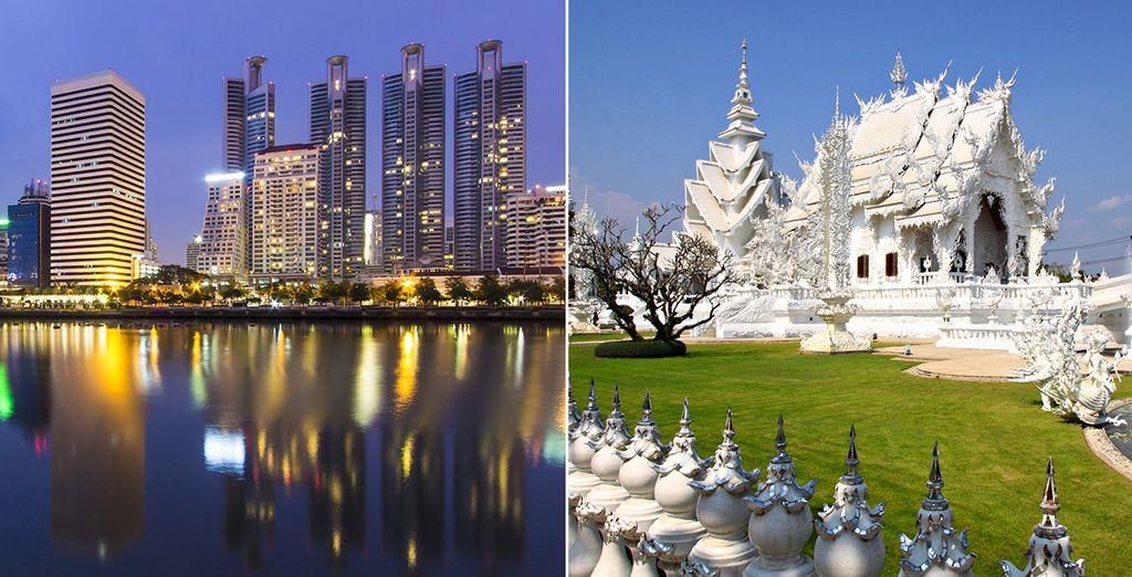 De Bangkok à Lanna...