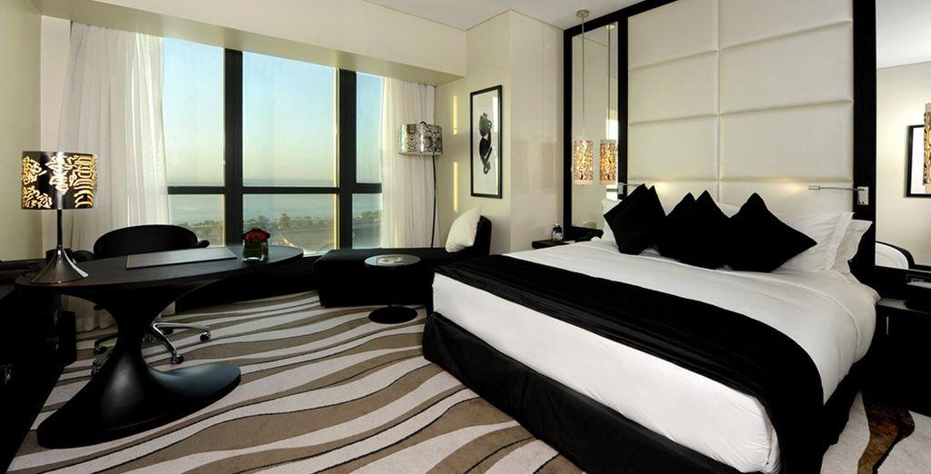 Ou vous profiterez d'un surclassement en chambre Luxury vue mer pour tout séjour entre le 01/05 et le 30/09/2017