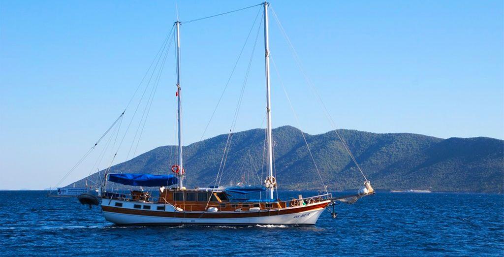 Hissez les voiles et à vous les plus beaux paysages de Turquie !