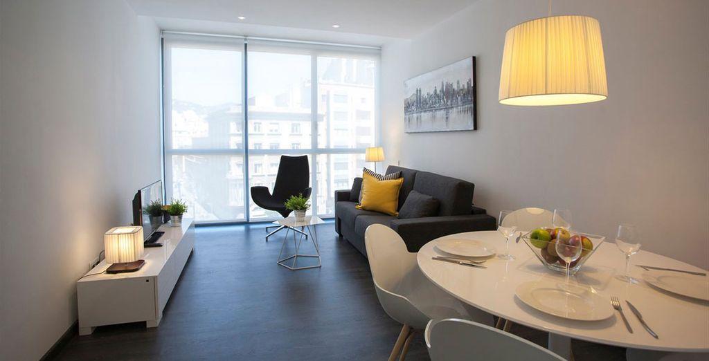 Appartement 4 : La salle-à-manger