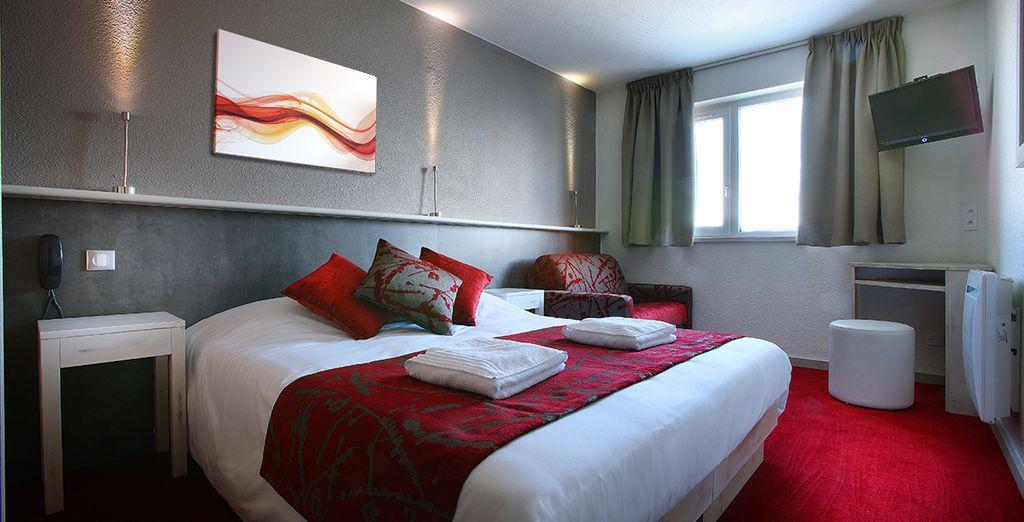 Séjournez dans une confortable chambre standard