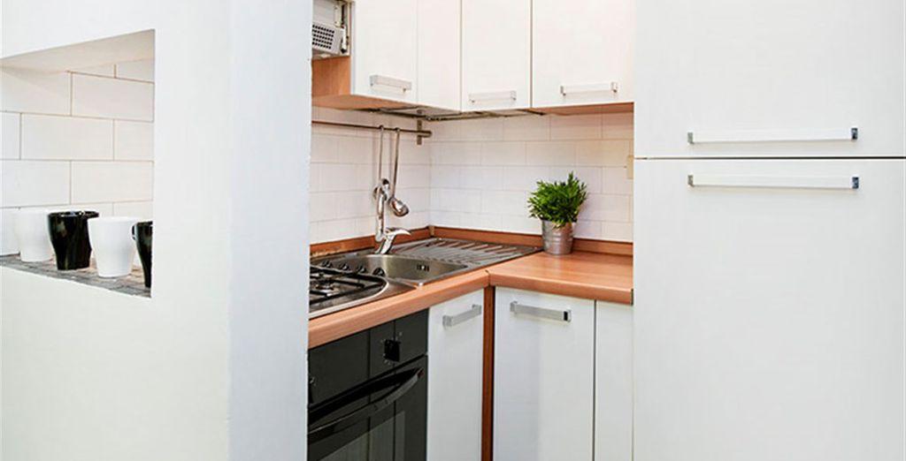 Appartement 7 : La cuisine