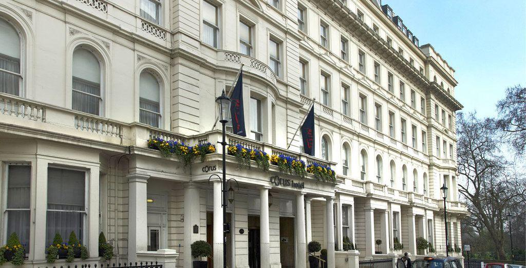 Bienvenue à l'hôtel Corus Hyde Park 4*