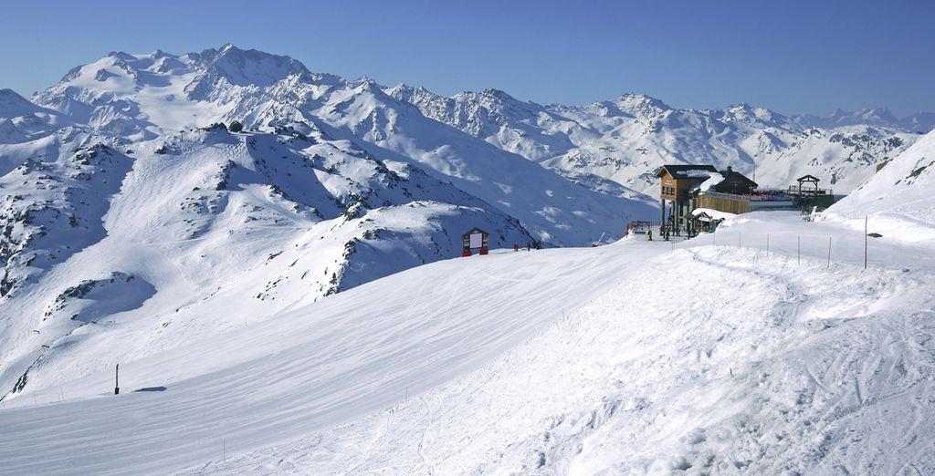 Le plus vaste domaine skiable des 3 vallées vous attend !