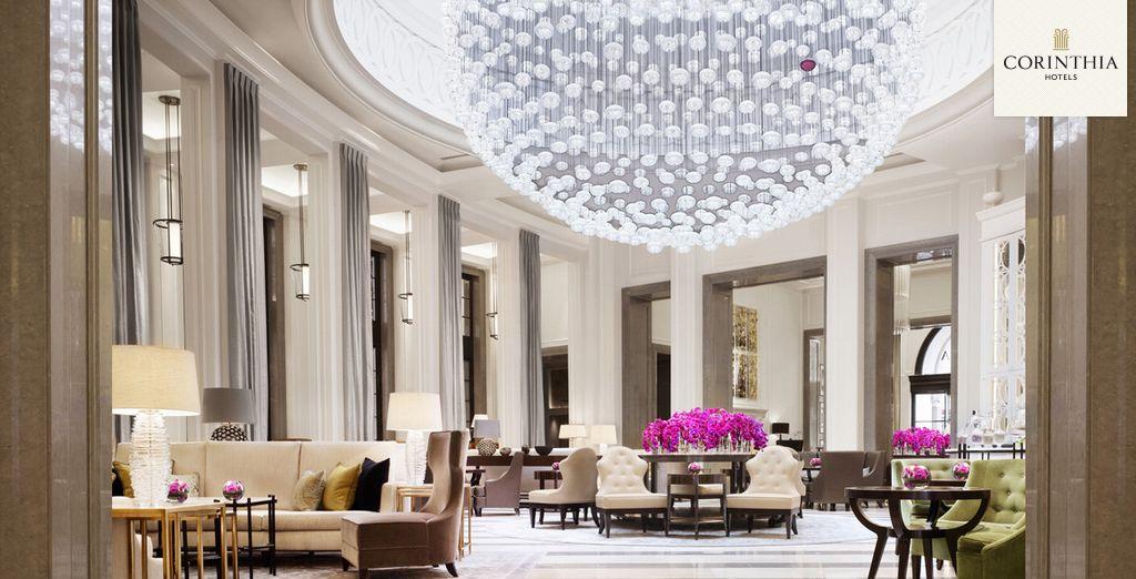 Et si vous partiez à Londres pour une escapade so british ? - Corinthia Hotel London 5* Londres