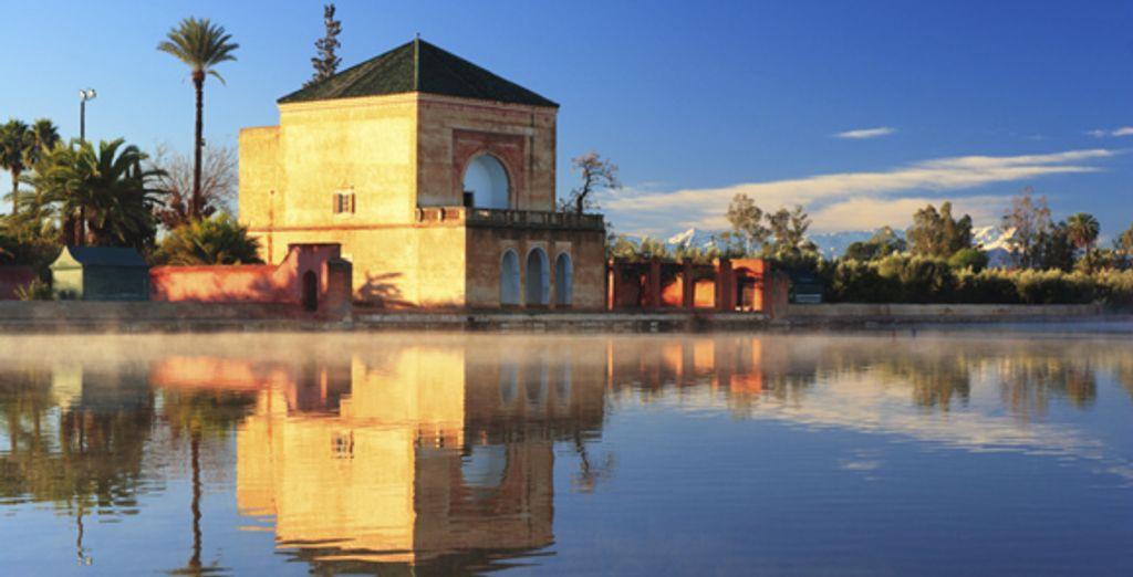 Le jardin Menara de Marrakech