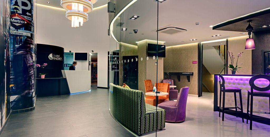 L'hôtel Indigo Madrid vous ouvre ses portes au cœur même de la ville