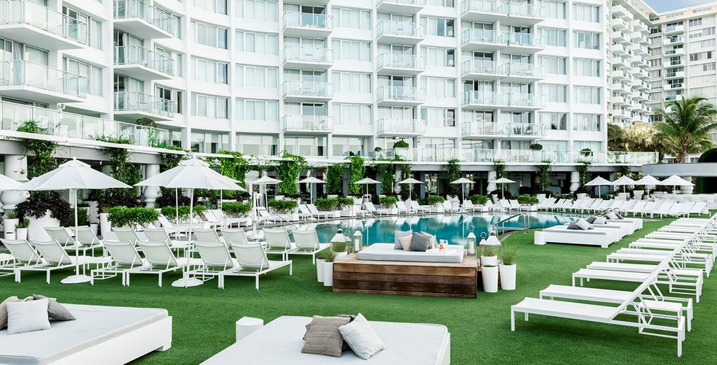 Prenez place au Mondrian South Beach