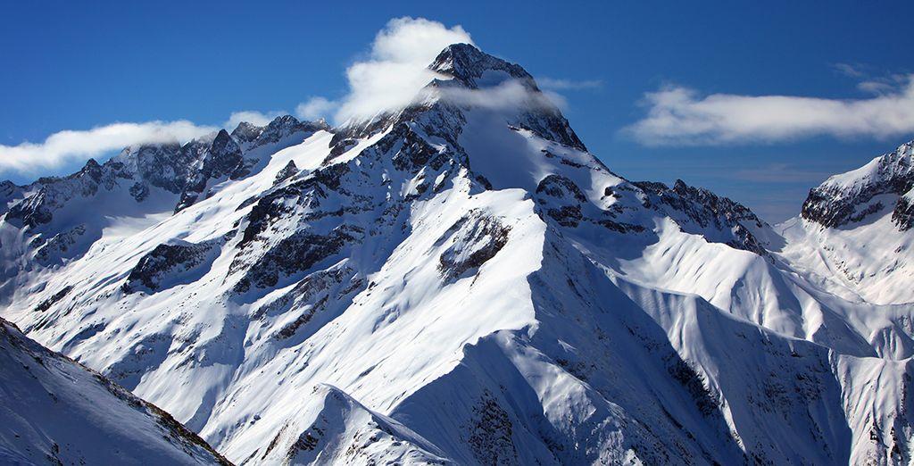 Ou au coeur des montagnes pour des moments de glisse !