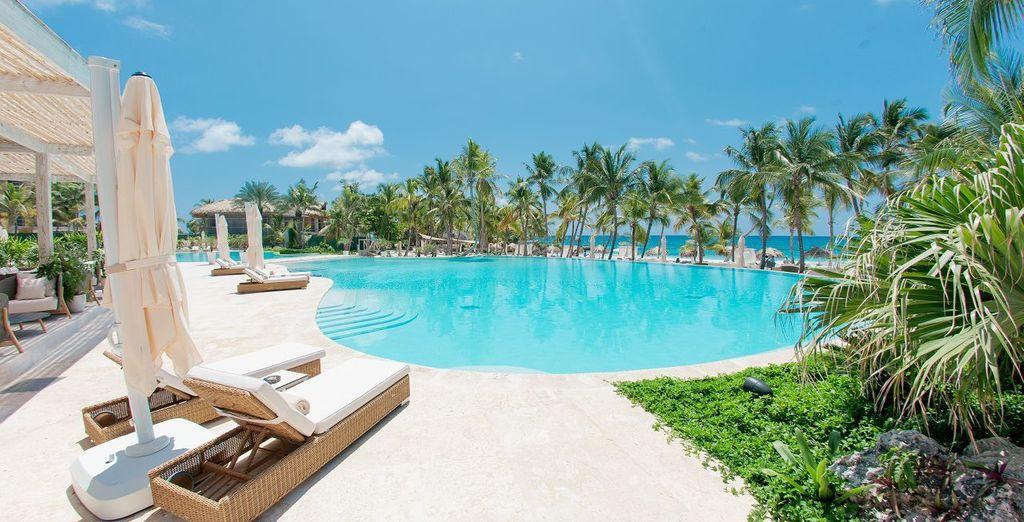 Et posez vos bagages à l'hôtel Eden Roc at Cap Cana