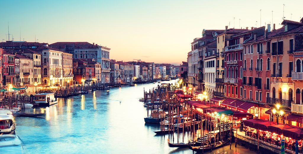 Envolez-vous pour Venise, la romantique