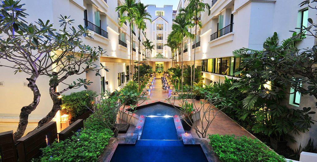 Séjournerez dans des hôtels sélectionnés avec soin