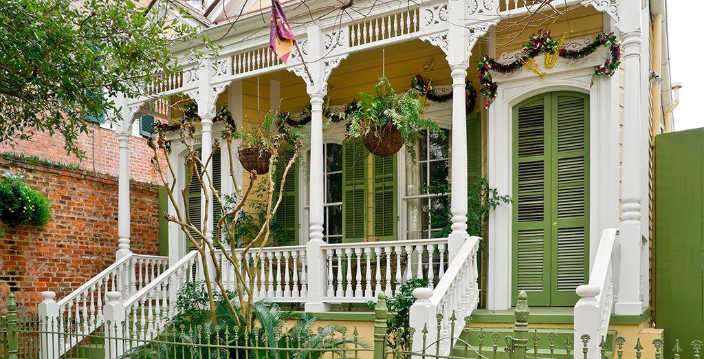 Et son style colonial si typique ! N'hésitez plus, direction New Orleans !