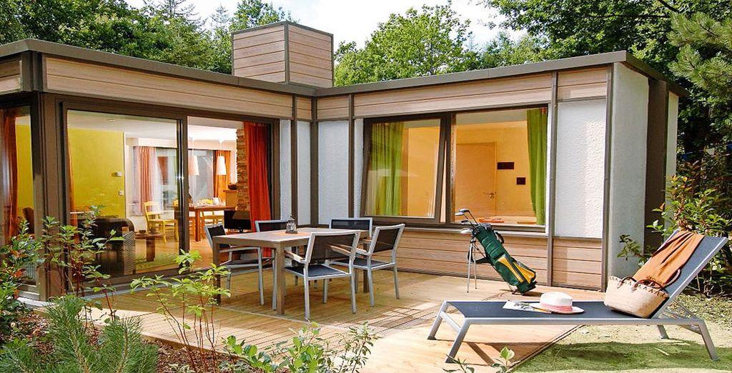 Profitez de sa terrasse nichée en pleine nature